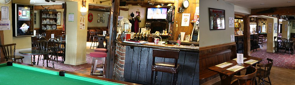 Bar at The Bakers Arms, Stratton St Margaret, Swindon